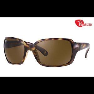 Ray-ban RB4068 Tortoise Polarized Sunglasses